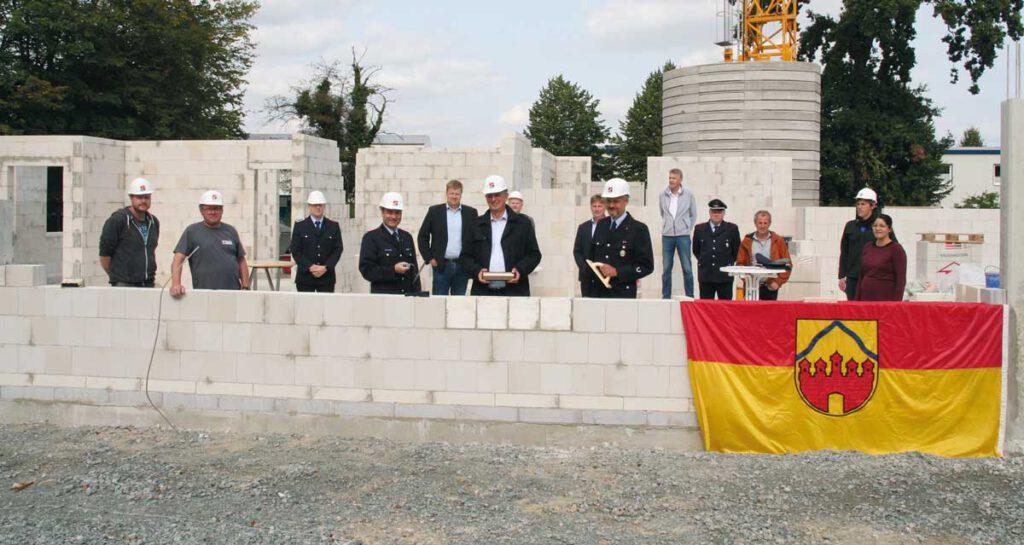 Grundsteinlegung Feuerwehr Horneburg