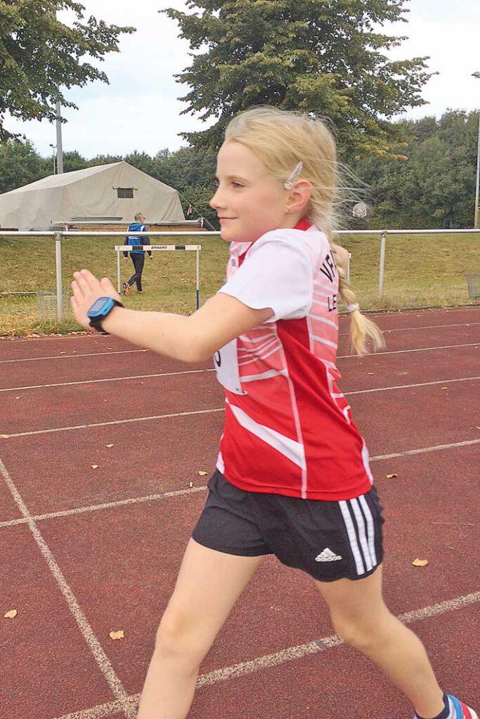 Victoria Pönitz vom VfL Horneburg