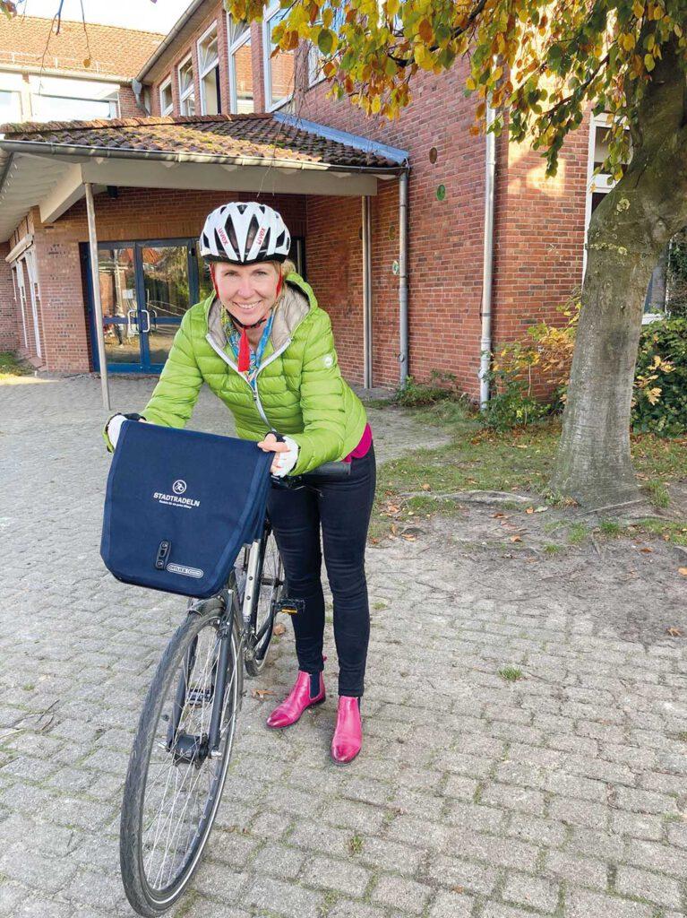 Sabine Folster Stadtradel-Star