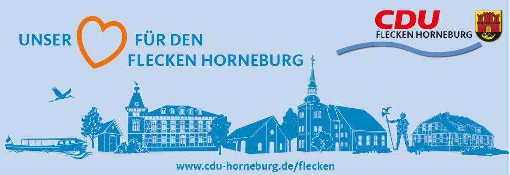 Anzeige der CDU im Flecken Horneburg