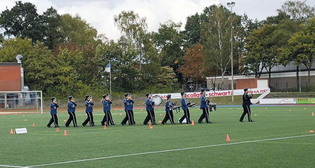 Wettkampf Spielmannszug in Norderstedt