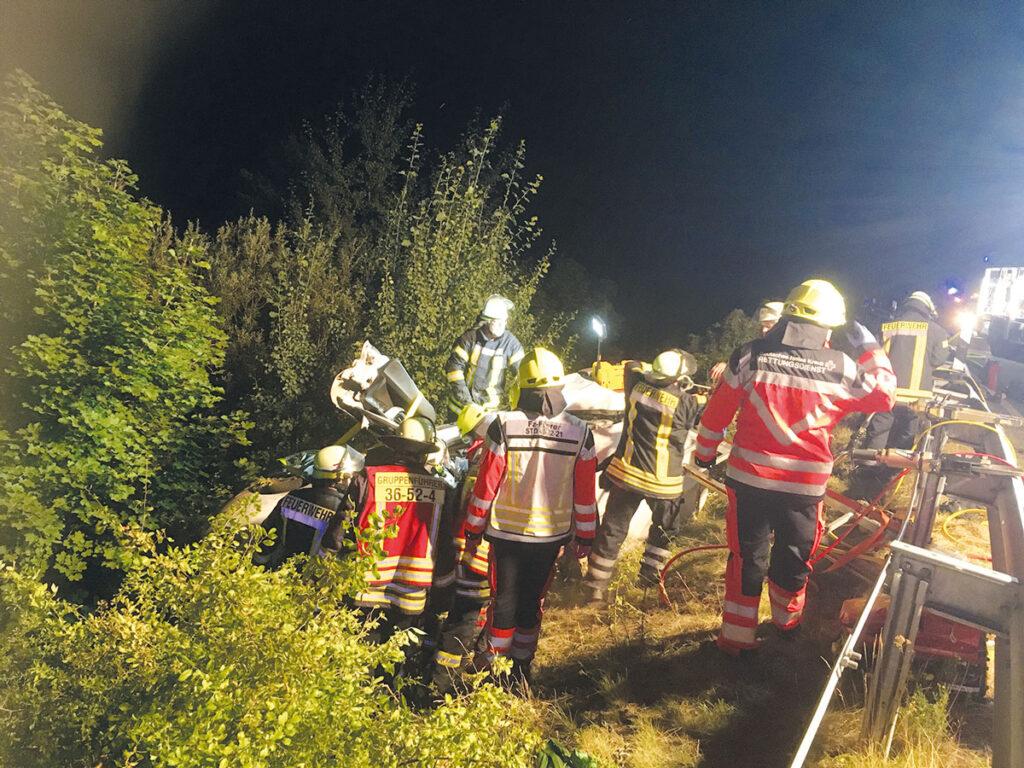 Feuerwehr im Einsatzt