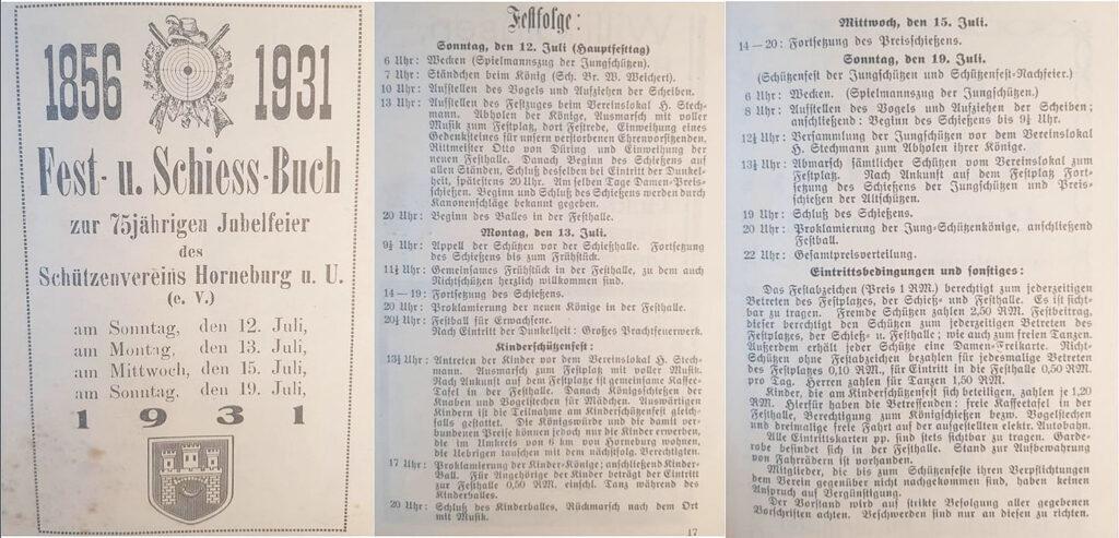 Festschrift 1936