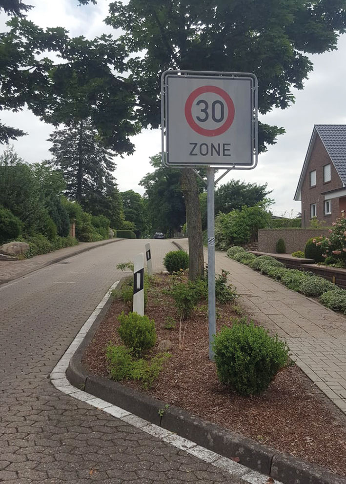 Verkehrssituation Dollern