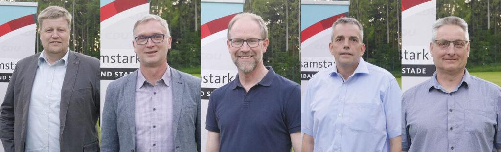 Bürgermeisterkandidaten CDU Samtgemeinde Horneburg