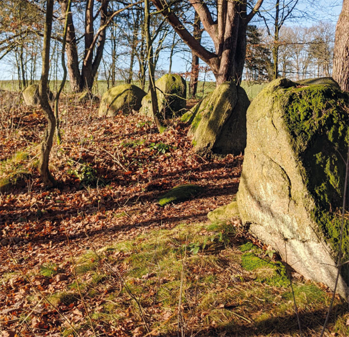 Archäologischen Wanderpfad Daudieck